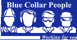 – Perth | Blue Collar People Logo